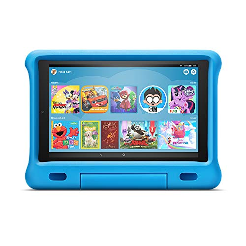 "Fire HD 10 Kids Edition Tablet – 10.1"" 1080p full HD display, 32 GB, Blue Kid-Proof Case (Electronics)"