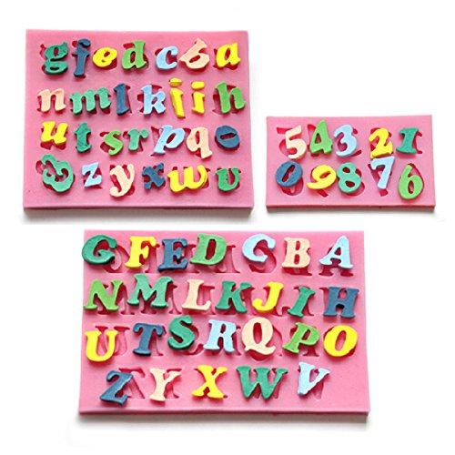 CLE DE TOUS - Molde De Silicona Forma Letras número