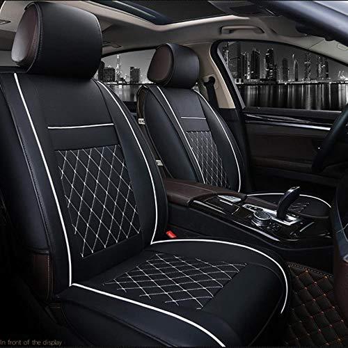 suyanouz Universele Auto Stoel Cover Pad Auto Mantel Auto Stoelen Kussen Bescherm Automobile Interieur Accessoires Automotive Interieur 1 zwart wit