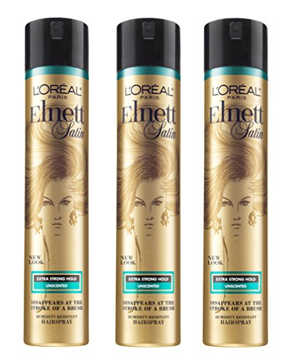 Price comparison product image L'Oréal Paris Elnett Satin Extra Strong Hold Hairspray - Unscented, 11 Oz,  3 Count