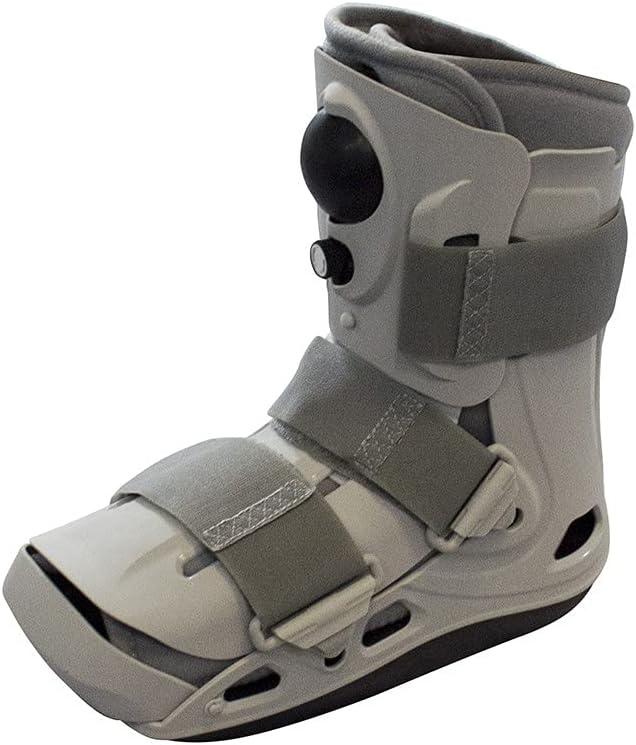 PhysioRoom Apoyo y protección para tobillo y pie roto, lesionado y esguincado – Caminador de aire corto de lujo, perfecto para rehabilitación correctiva y recuperación rápida