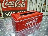 ★アメリカンダイナー!コカ・コーラ メタル ティッシュケース コカ・コーラグッズ  ブランド coca-colaの写真
