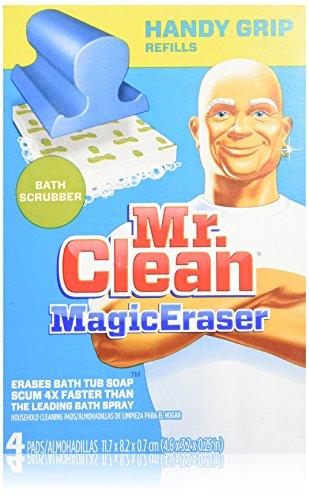 Price comparison product image Mr. Clean Magic Eraser Handy-Grip Bath Refills,  4 Count