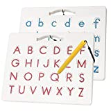 Apfity Magnetic Alphabet Tracing Board, ABC Magnetic...