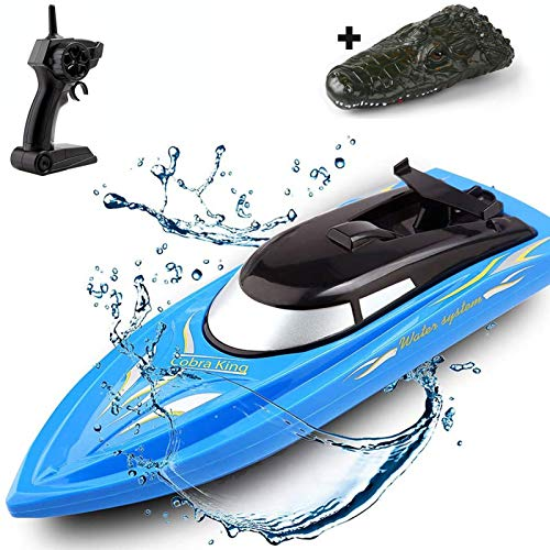 SZJJX 2 in 1 RC Boat, Remote Control Racing Boats for Pools and Lakes Pond...