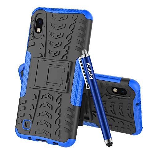 MAA Schutzhülle für Samsung Galaxy A10, Hybrid-Hülle, robust, stoßfest, strapazierfähig, mit Ständer, für Samsung Galaxy A10