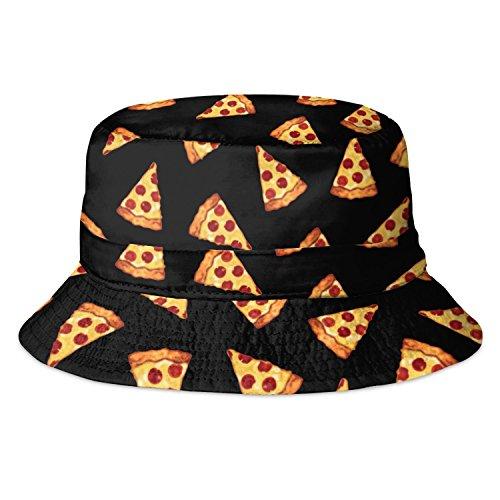 Alaani Alaani Fischerhut Bucket Hat Sonnenhut Print Pizza