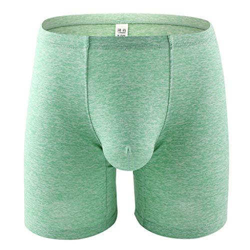 Aoogo Herren Boxershorts, Sexy Unterwäsche Männer Boxershorts Herren Sexy Unterwäsche Männer Spleißen Boxer Hosen Unterhose Atmungsaktive Weiche Höschen
