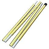 TENT FACTORY(テントファクトリー) ポール ジュラルミンポール140 TF-TDAP16-140 ゴールド 140cm