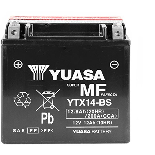 YUASA - BATTERIE YUASA YTX14-BS 12V12A