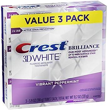 3-Pack Crest 3D White Brilliance Toothpaste