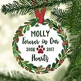 ymotornament Gedenk-Dekoration für Haustiere, für Hunde/Gedenke, Geschenk zum Verlust von Haustieren, Geschenk für Hunde/Gedenkideen