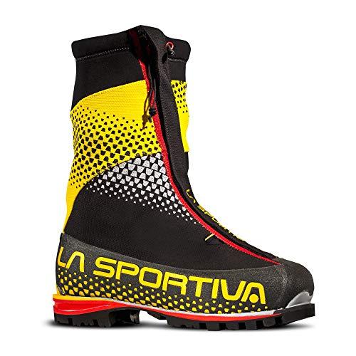 La Sportiva 11QBY, Botas de Senderismo Unisex Adulto, Black 47 Yellow, 42.5 EU