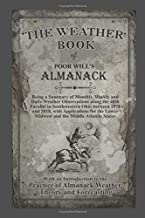The Weather Book of Poor Will's Almanack: The Theory and Practice of Almanack Forecasting