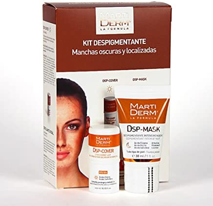 MARTIDERM DEPIGMENTING KIT FOR DARK AND LOCATED SPOTS X Mas Gift Skin Beauty Gift