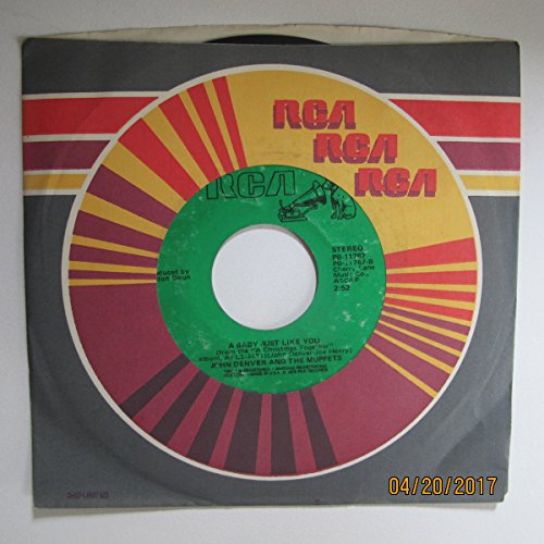 A baby just like You b/w Have Yourself a Merry Little Christmas / We Wish You a merry Christmas (45 RPM) (Red vinyl)