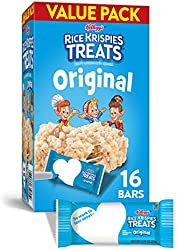 Kellogg's, Rice Krispies Treats, Original Marshmallow Bars, Value Pack, 16 Count