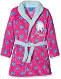 Disney Frozen Elsa and Anna Peignoir, Rose (Fushia), 4 Ans Fille