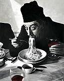 1art1 54501 Kochkunst - Spaghetti, Rotwein, Don Camillo