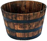 Home Depot Wooden Barrel