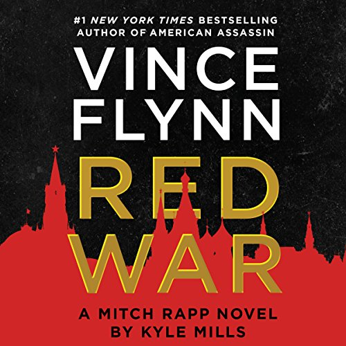 Red War audiobook cover art
