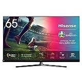 Hisense ULED 2020 65U8QF - Smart TV 65' Resolución 4K, Quantum Dot, FALD, Dolby Vision, Dolby Atmos, Altavoces JBL, Vidaa U 4.0 con IA, con Alexa integrada