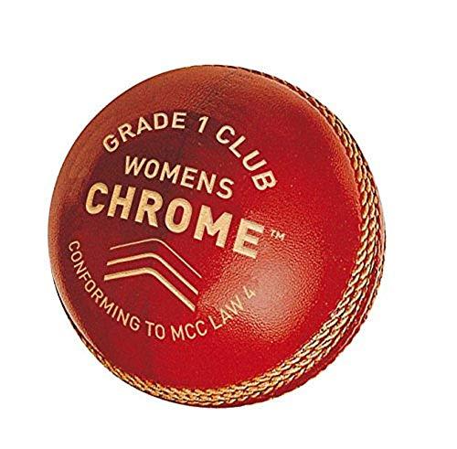 GM Damen Chrom Stufe 1Club Cricket-Ball, Damen, Chrome Grade 1 Club, rot