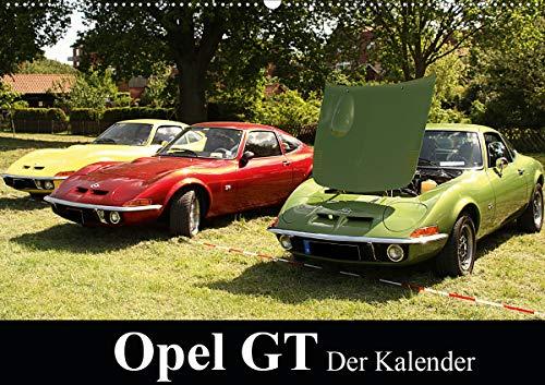 Opel GT Der Kalender (Wandkalender 2021 DIN A2 quer)