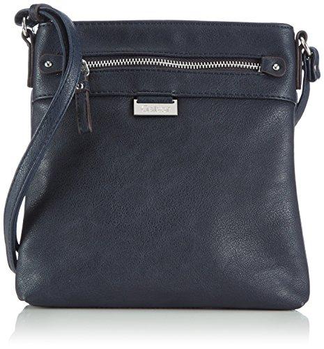 Gabor Umhängetasche Damen Ina, Blau (blau 50), 23x23x4 cm, Gabor Handtasche Damen
