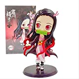 Huhu Anime Demon Slayer Kimetsu No Yaiba Big Eyes Figura 13Cm Kamado Nezuko Figura de acción Juguete...