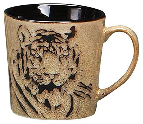 Caneca de rosto de tigre Unison Gifts TCD-452, 473 ml