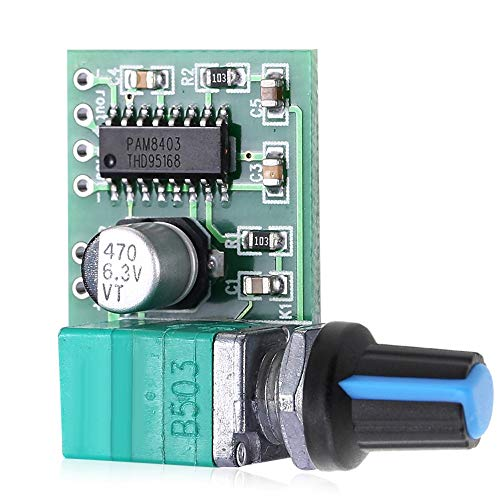 Compatibele Vervangings PAM8403 5V vermogen Audio versterker Board 2-kanaals 3W W volumeregeling/USB Power Accessory