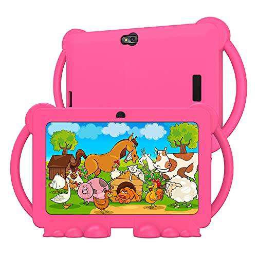 7 Inch Kids Tablet 3GB RAM 32GB ROM Tablet PC for Kids Android 10.0 Toddler...