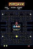 1art1 Gaming - Pac-Man Labyrinth Poster 91 x 61 cm