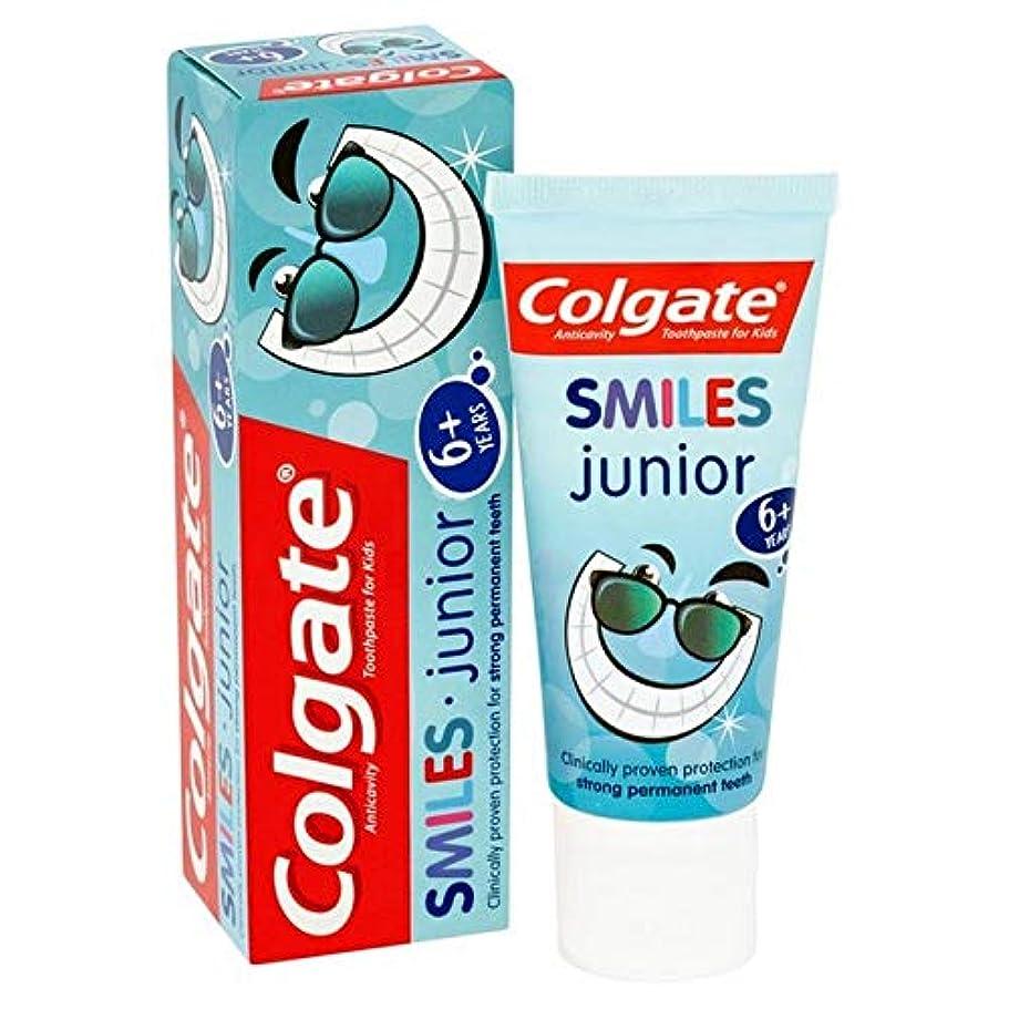 流体無傷勝利した[Colgate ] コルゲートは、ジュニア6+年の歯磨き粉50ミリリットルを笑顔 - Colgate Smiles Junior 6+ years Toothpaste 50ml [並行輸入品]