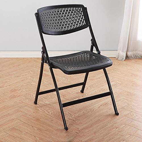 XUMINGZDY Klappstuhl Studentenwohnheim Computer Stuhl Freizeit Stuhl Einfache Bürostuhl Konferenz Stuhl Haushalts Hocker Restaurant Outdoor Stuhl (Farbe : A)