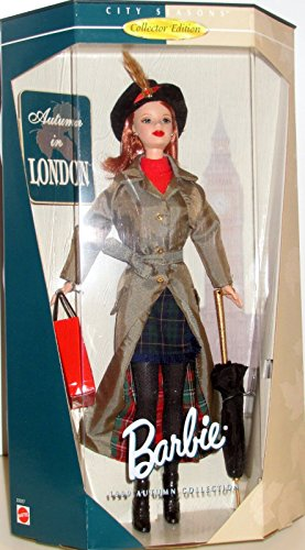 Barbie City Seasons Collector Edition Autumn in London --