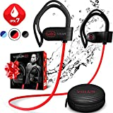 [Newest 2019] Wireless Workout Bluetooth Headphones for Running and Gym - Best Sport Earbuds for Men & Women -...