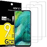 NEW'C Lot de 3, Verre Trempé Compatible avec Oppo Find X2 Lite, Film Protection écran sans Bulles d'air Ultra Résistant (0,33mm HD Ultra Transparent) Dureté 9H Glass