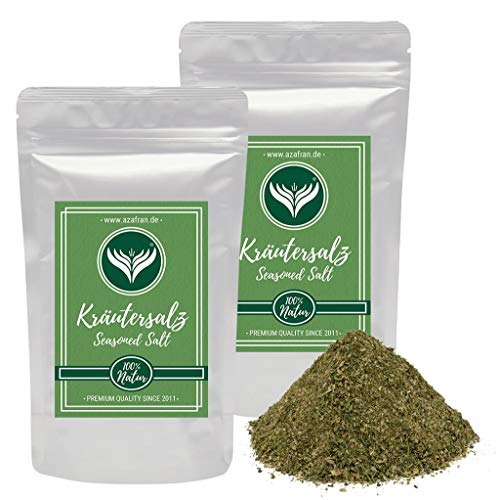 Azafran Kräutersalz - Salz mit 40% Kräutern 500g