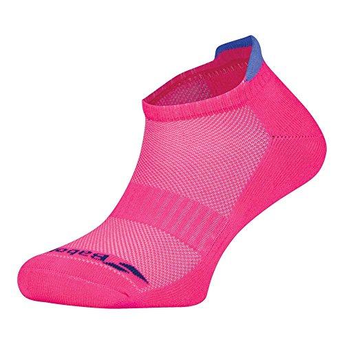 Babolat Damen Sportsocken Sneaker für Badminton, Tennis und Squash 2er Pack (35-38, pink)