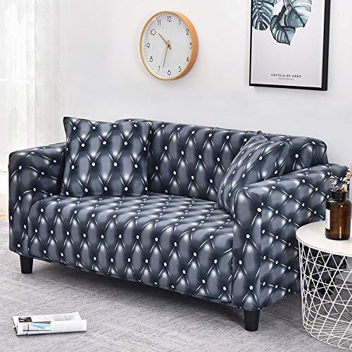 ASCV Funda de sofá Asiento elástico Fundas de sofá Fundas para Muebles de sillón Fundas para sofá Toalla de sofá 1/2/3/4 Plazas A1 4 plazas