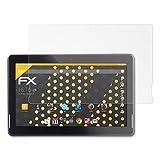 atFolix Panzerfolie kompatibel mit Touchlet X13.Octa Schutzfolie, entspiegelnde & stoßdämpfende FX Folie (2X)