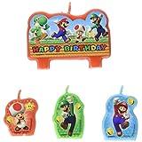 ヴィアライト(VIARITE) スーパーマリオ お誕生日キャンドルセット ケーキキャンドル 4個セット
