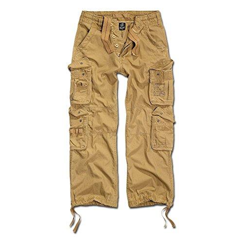 Brandit Hose Pure Vintage Trouser beige Größe S