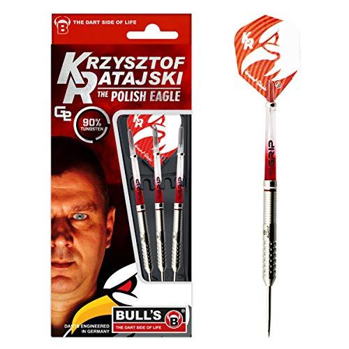 Bull's Krzysztof Ratajski G2 Steel Dart, Tungsten 22g, Silber
