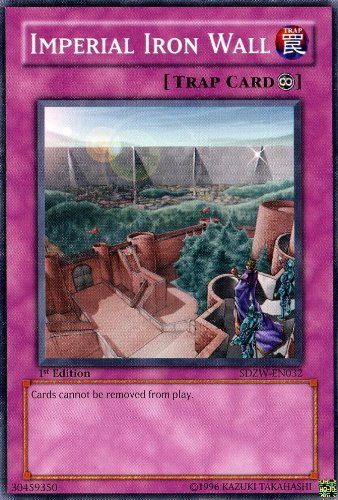 Yu-Gi-Oh! - Imperial Iron Wall (SDZW-EN032) - Structure Deck Zombie World - 1st Edition - Common