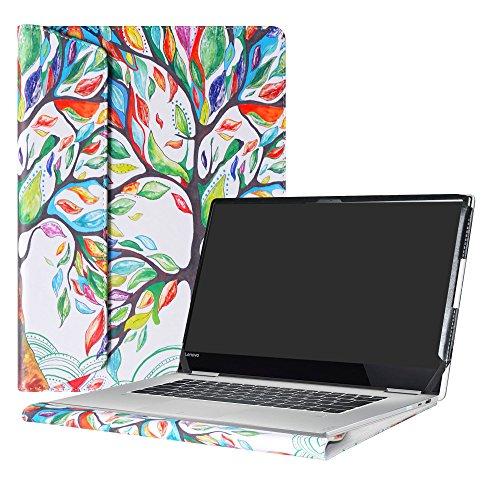 Alapmk Protective Case Cover For 15.6' Lenovo Yoga 720 15 720-15IKB Laptop,Love Tree