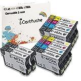 iCartouche Compatible Cartucho de Tinta para Epson 603XL 603 XL Expression Home XP-2100 XP-2105 XP-3100 XP-3105 XP-4100 XP-4105 WorkForce WF-2810DWF WF-2850DWF WF-2835DWF WF-2830DWF (4BK 2C 2M 2Y)