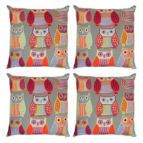 Affordable NEERU KUMAR Pillowcases with 100% Cotton Cushion Cover Throw Pillow Covers for Home Sofa ...
